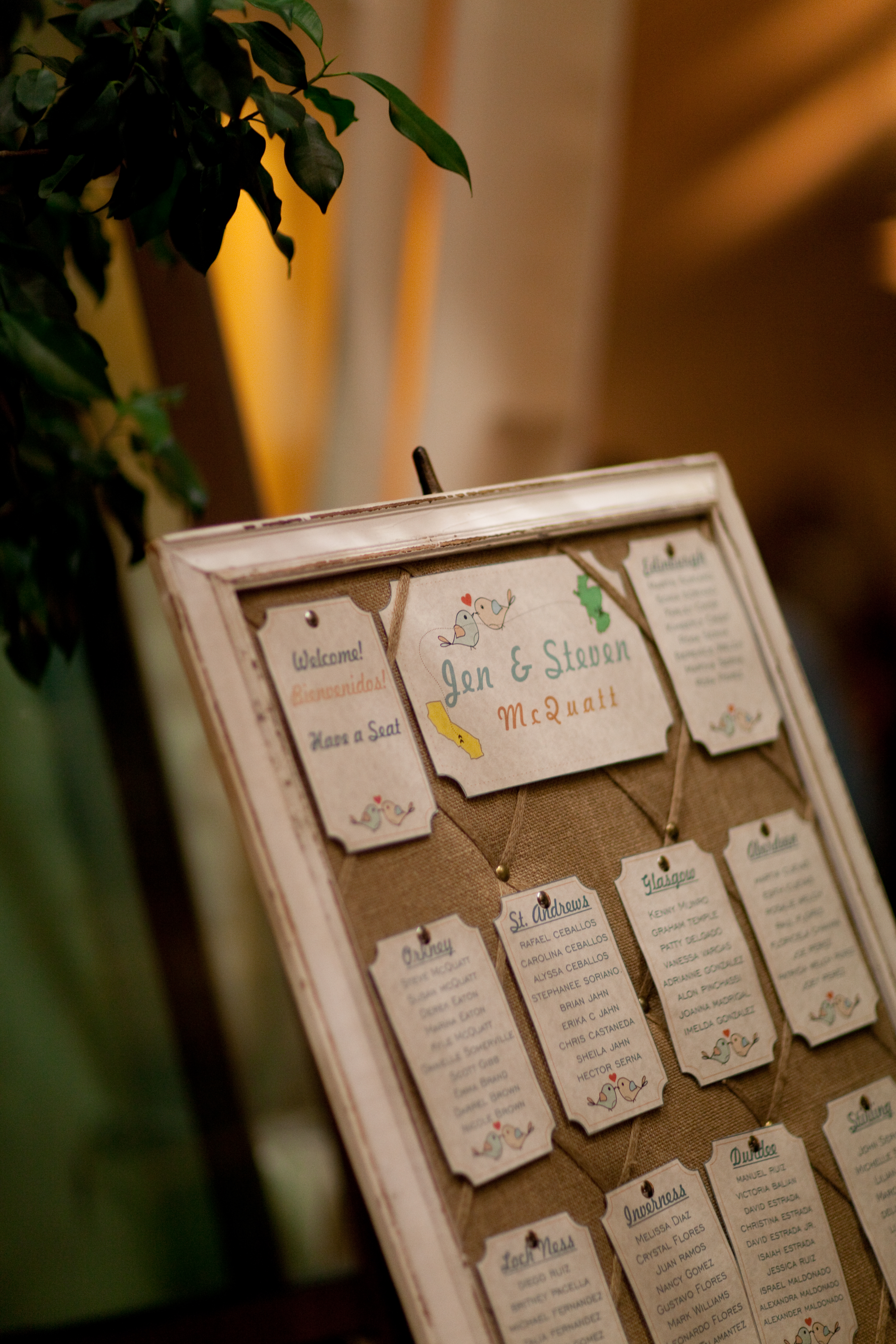 Vintage Seating Plan Etsy seating plans – Guest Seating Chart Template