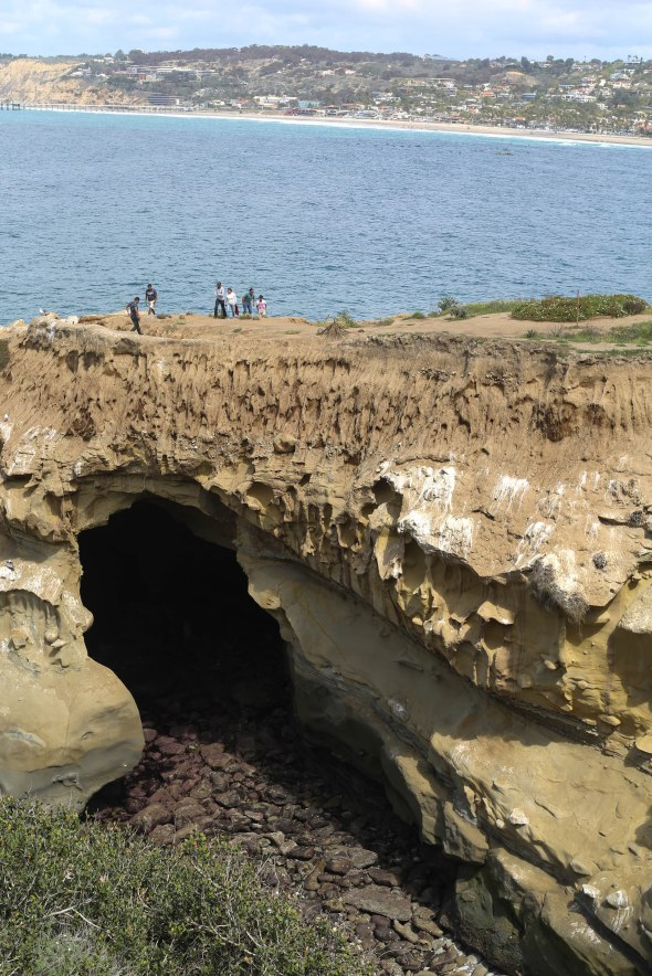 Other side of Cave